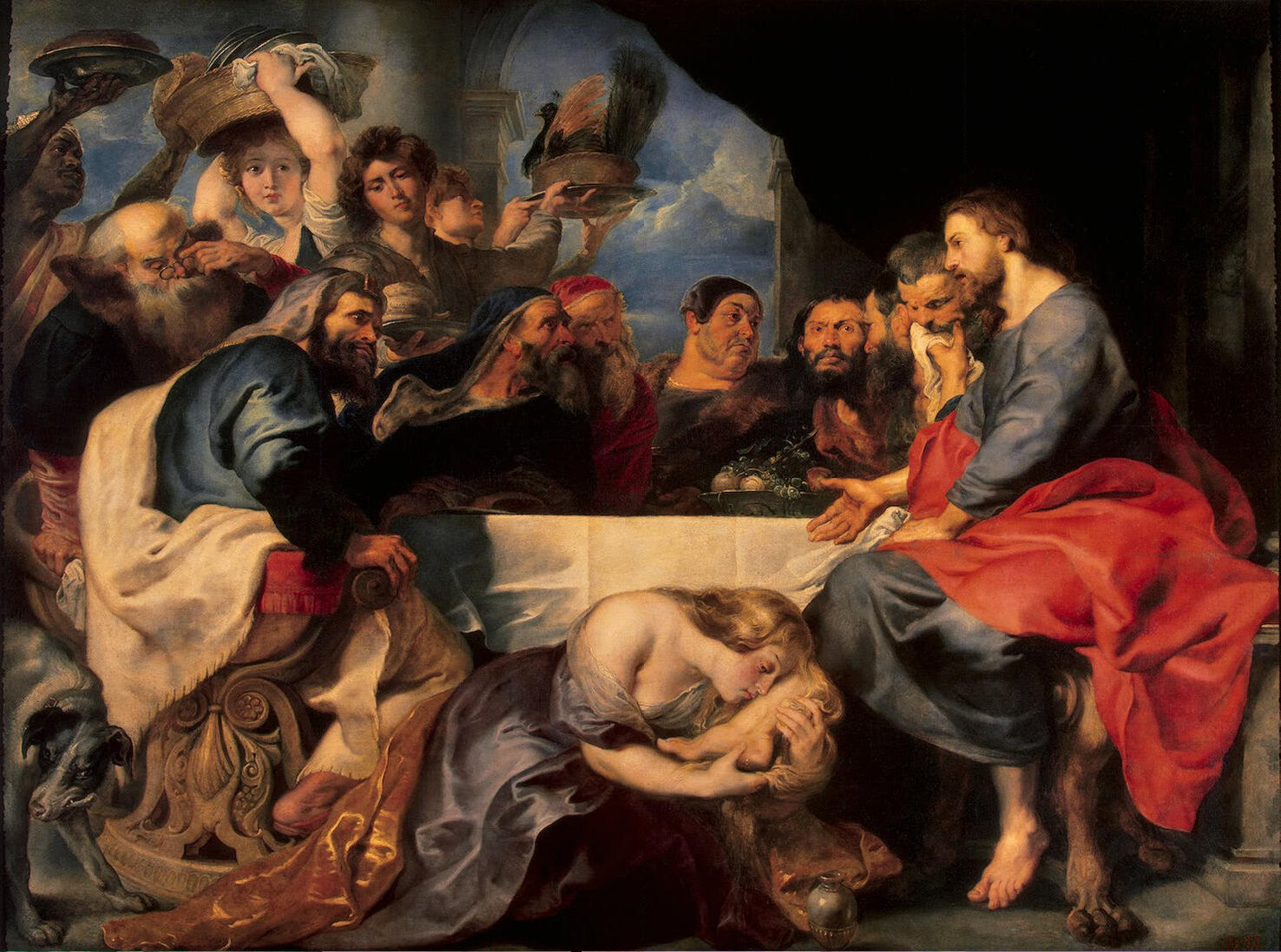RUBENS; PHARISIEN; PAINTING