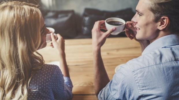 COUPLE; CONVERSATION
