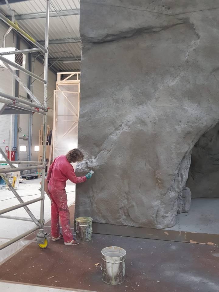Reproduction grotte de Lourdes
