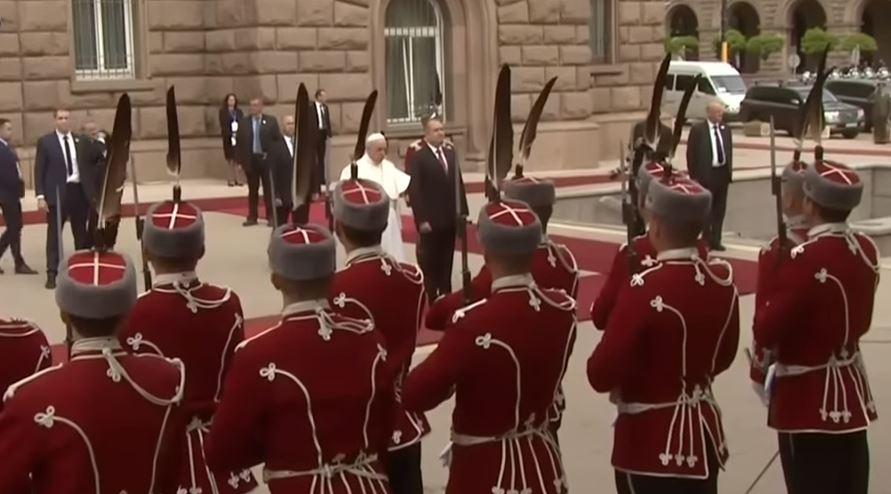 Pape François en Bulgarie
