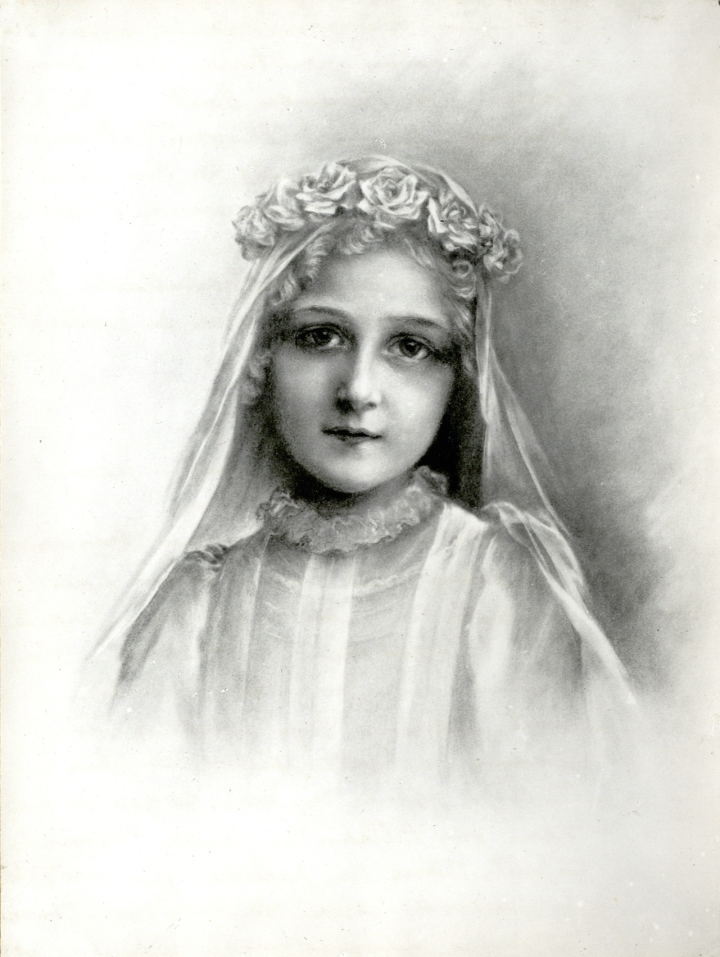 Sainte Thérèse de Lisieux, first communion