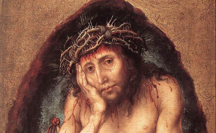 CHRIST ; PAINTING ; ECCE HOMO