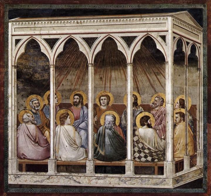 Giotto La Pentecôte