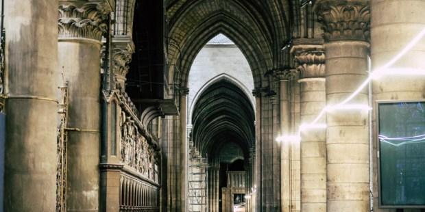 En images : dans les coulisses de la première messe à Notre-Dame de Paris