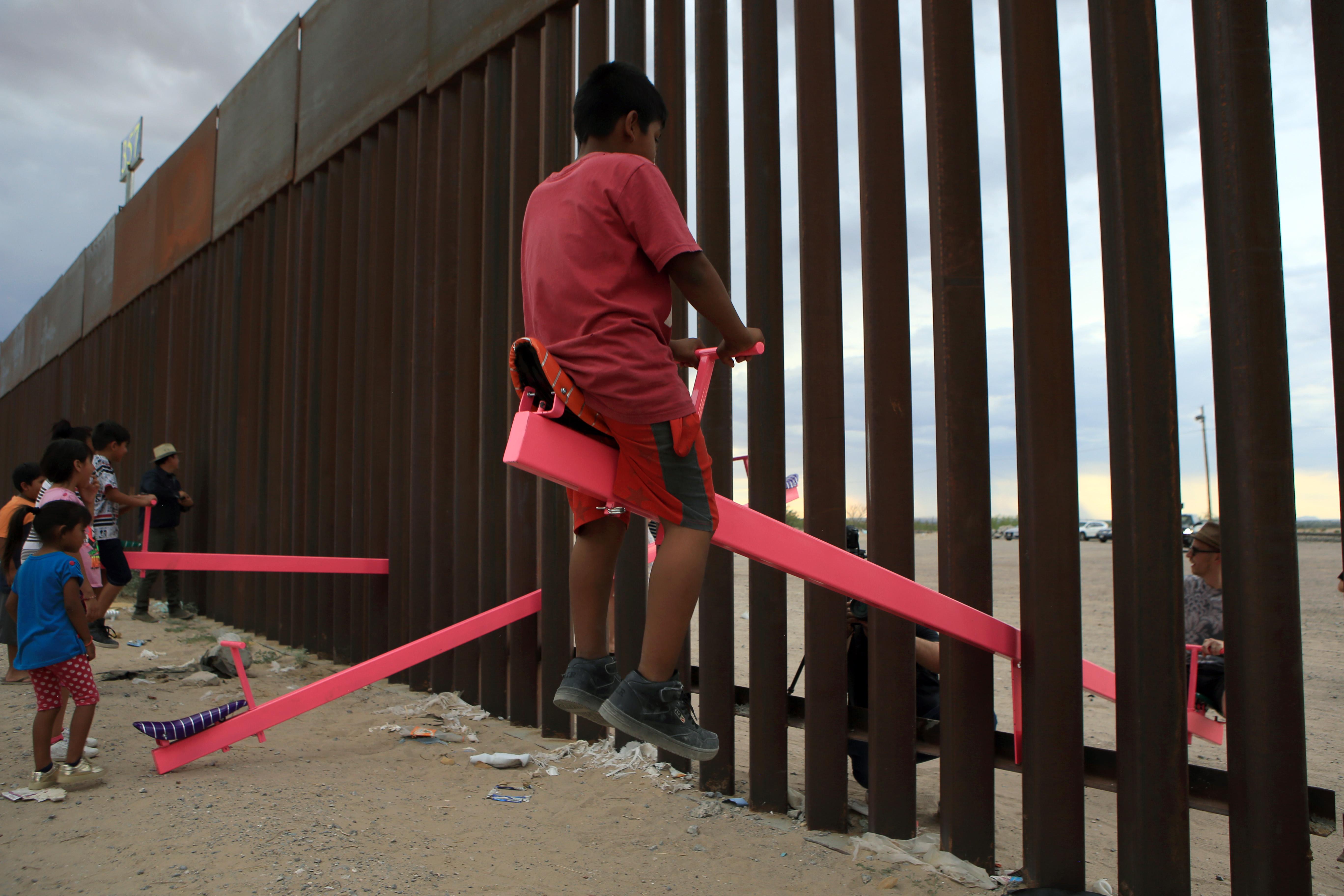 Blancoires mur mexique