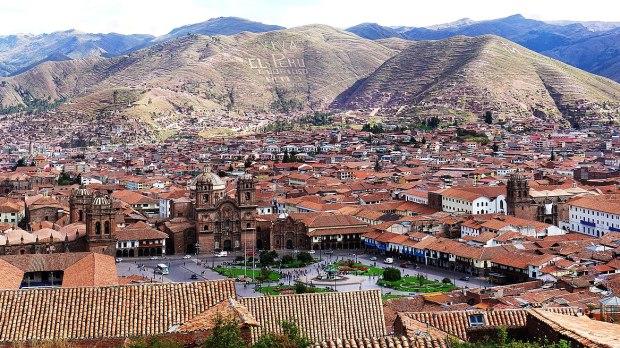 ville de Cuzco au Pérou