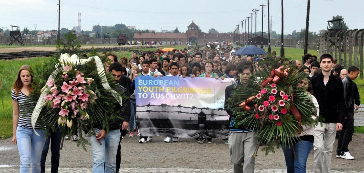 La communaté Sant'Egidio à Auschwitz
