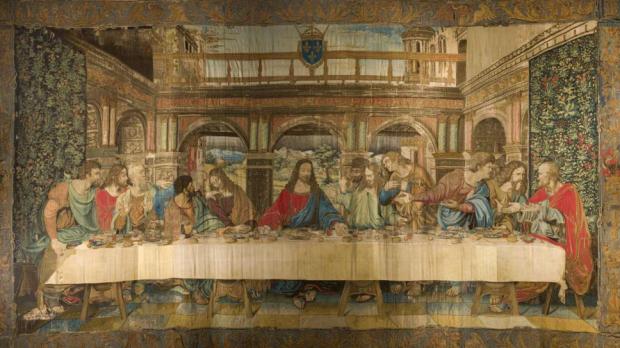 La cène Léonard de Vinci