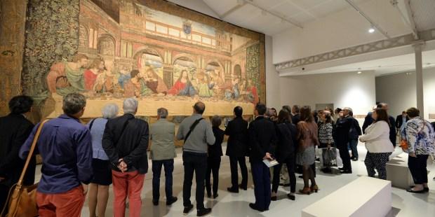 Tapisserie La Cène Léonard de Vinci