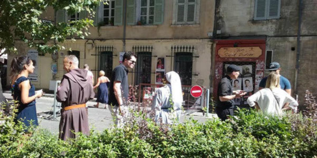 Évangélisation au festival d'Avignon
