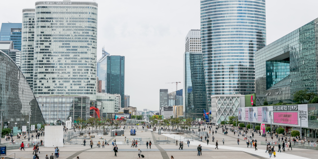 La Defense business district of Paris