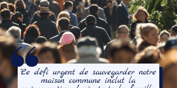 10 citations du pape François sur l'environnement