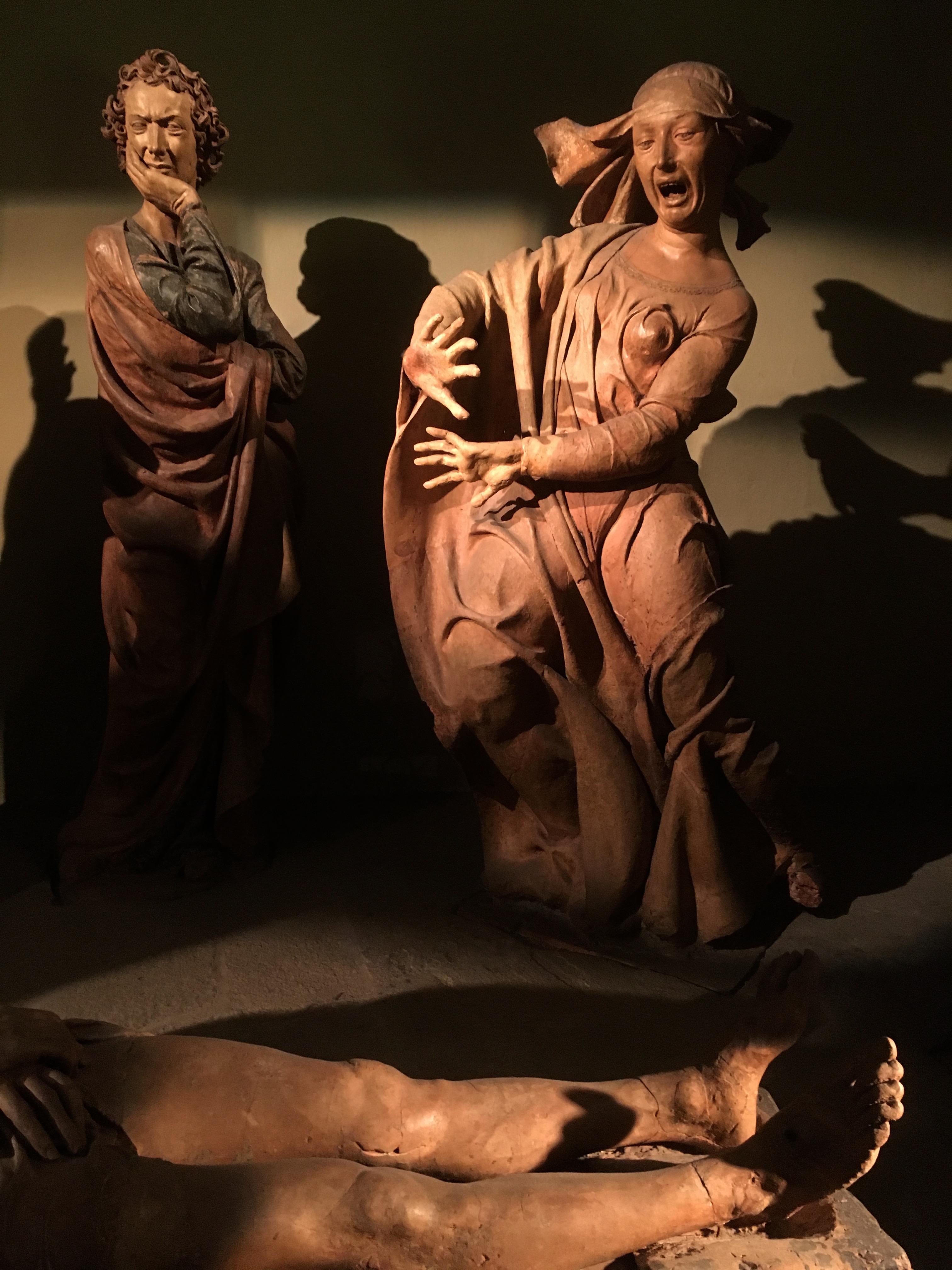 Lamentation sur le corps du Christ mort Niccolò dell'Arca