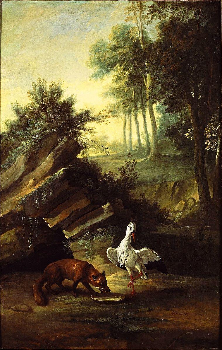 Renard et la cigogne