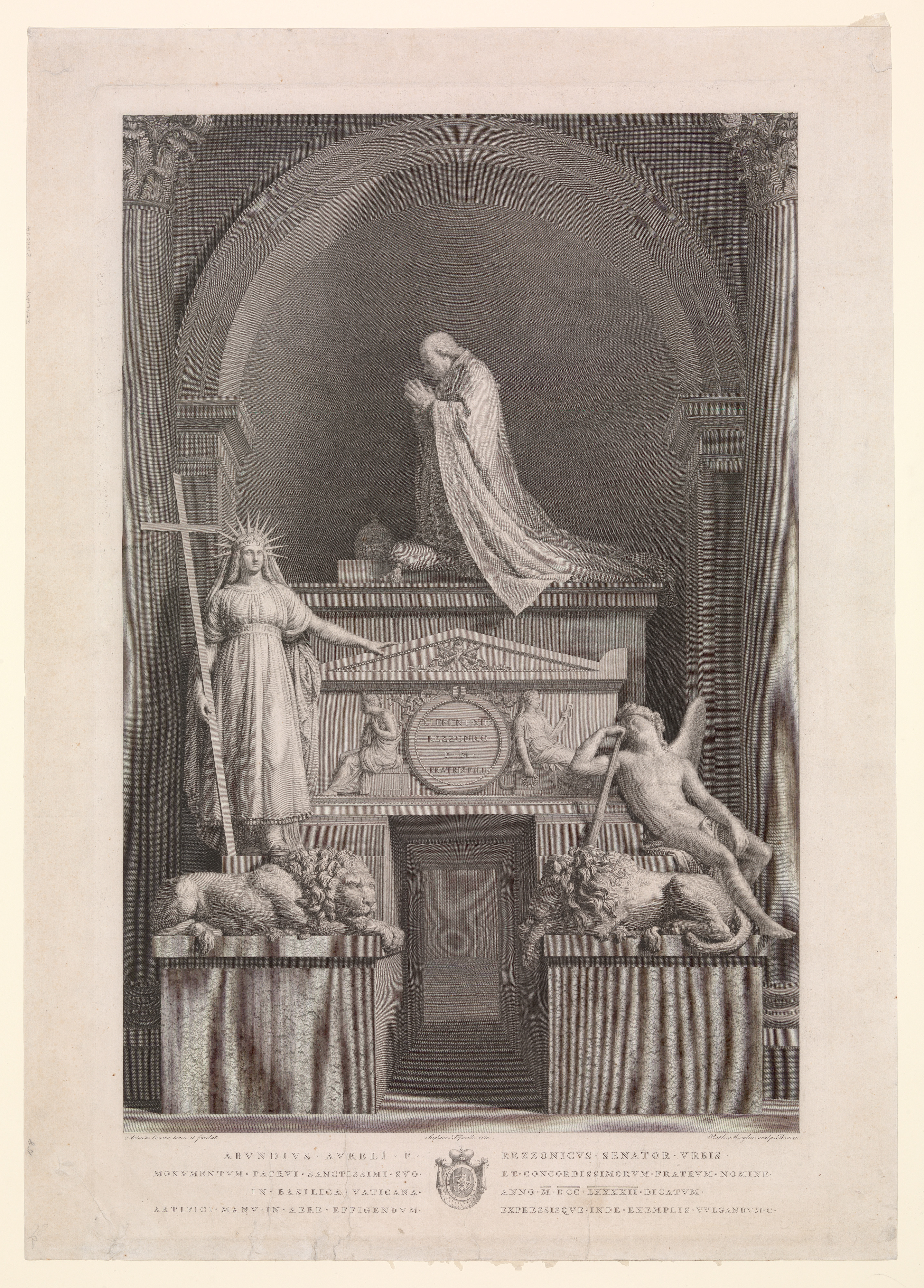 the_tomb_of_pope_clement_xiii