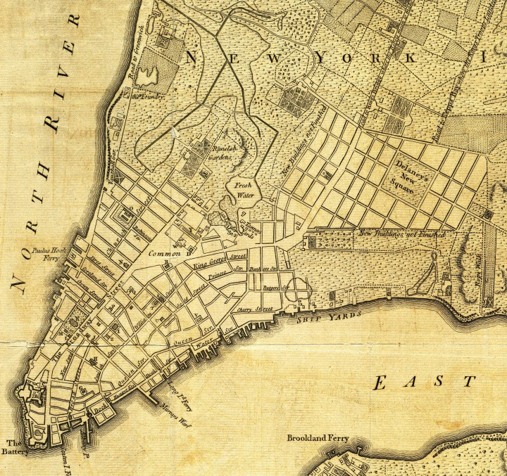 MAP,19TH CENTURY,NYC,NEW YORK