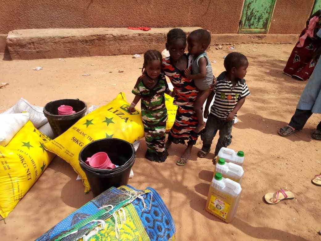 Enfants burkinabés