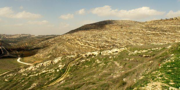 Ville de Silo en Cisjordanie