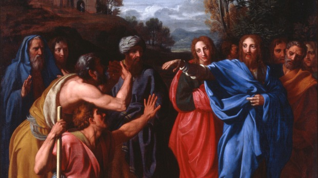 Le Christ guérissant un aveugle