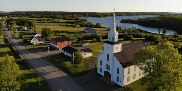 L'église de Pomquet