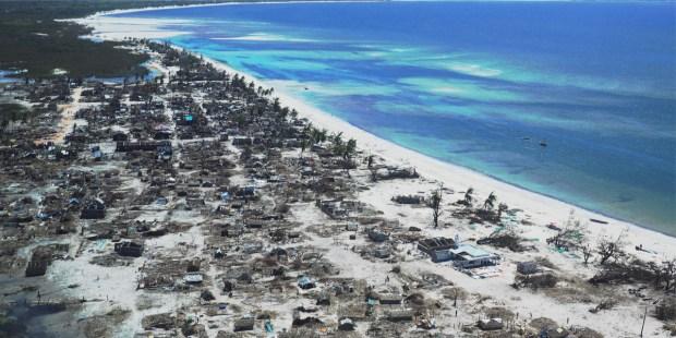 Cyclone Mozambique