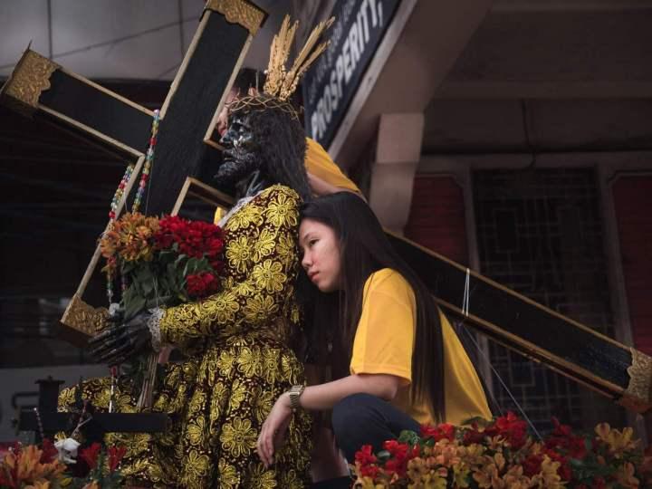 Nazaréen noir aux Philippines