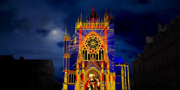 mapping cathédrale de metz