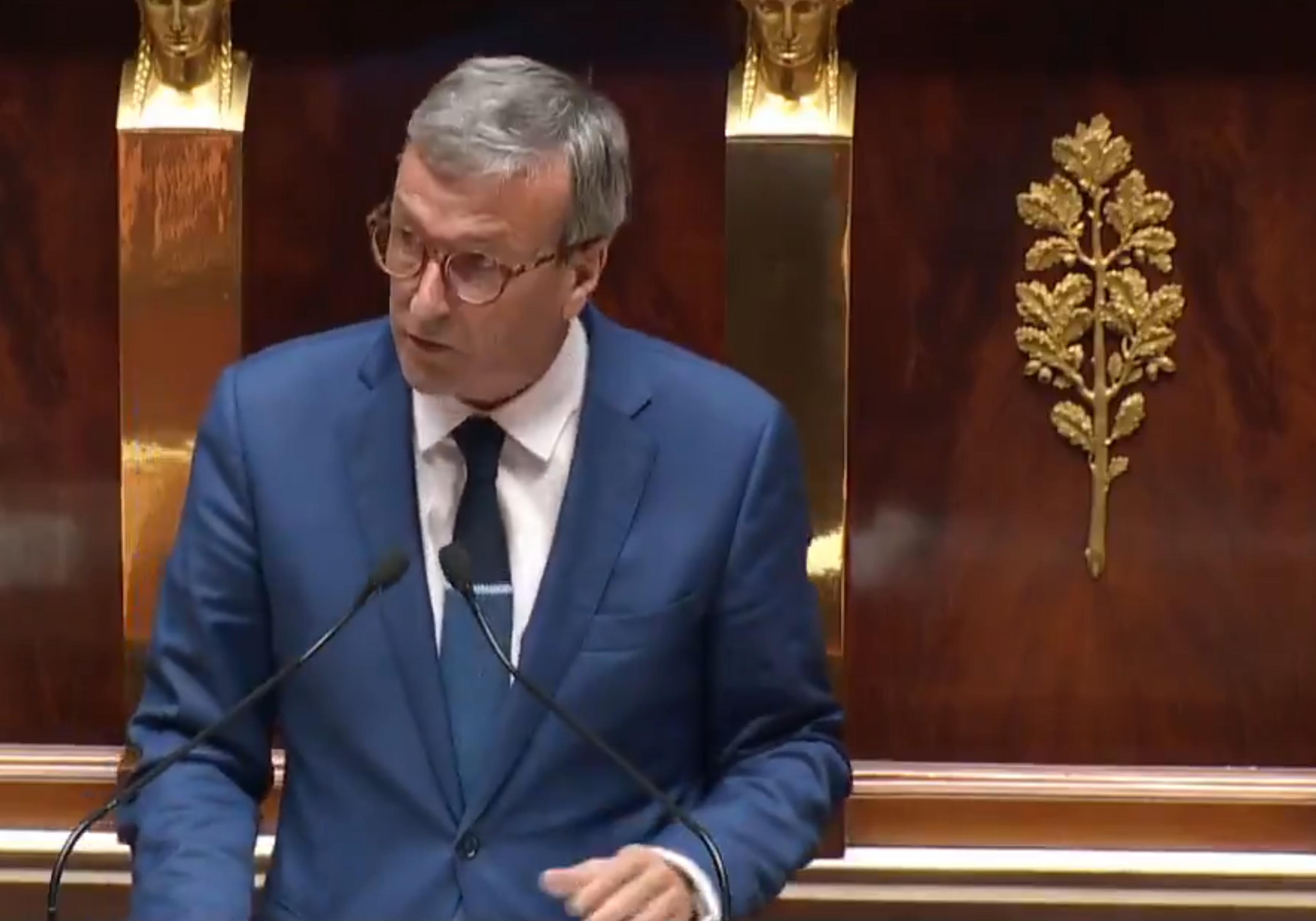 Philippe Vigier à l'Assemblée Nationale