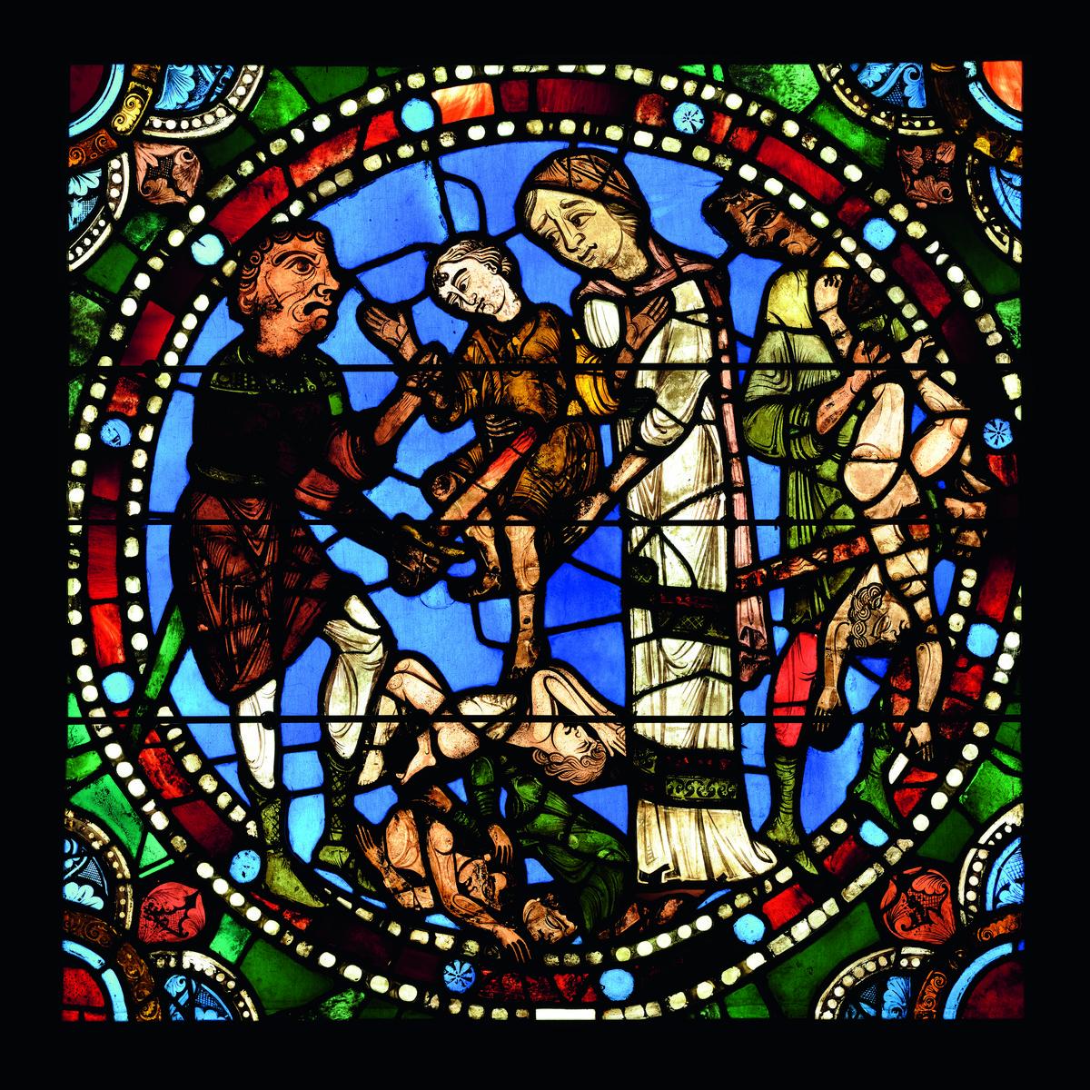 Vitrail du massacre des Innocents à Chartres