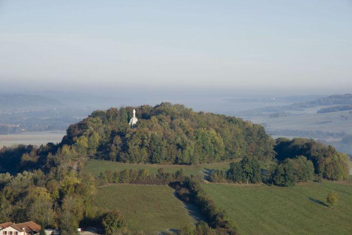 chapelle sur la colline des Fourches à Langres