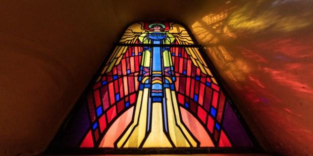 vitraux chapelle entrange