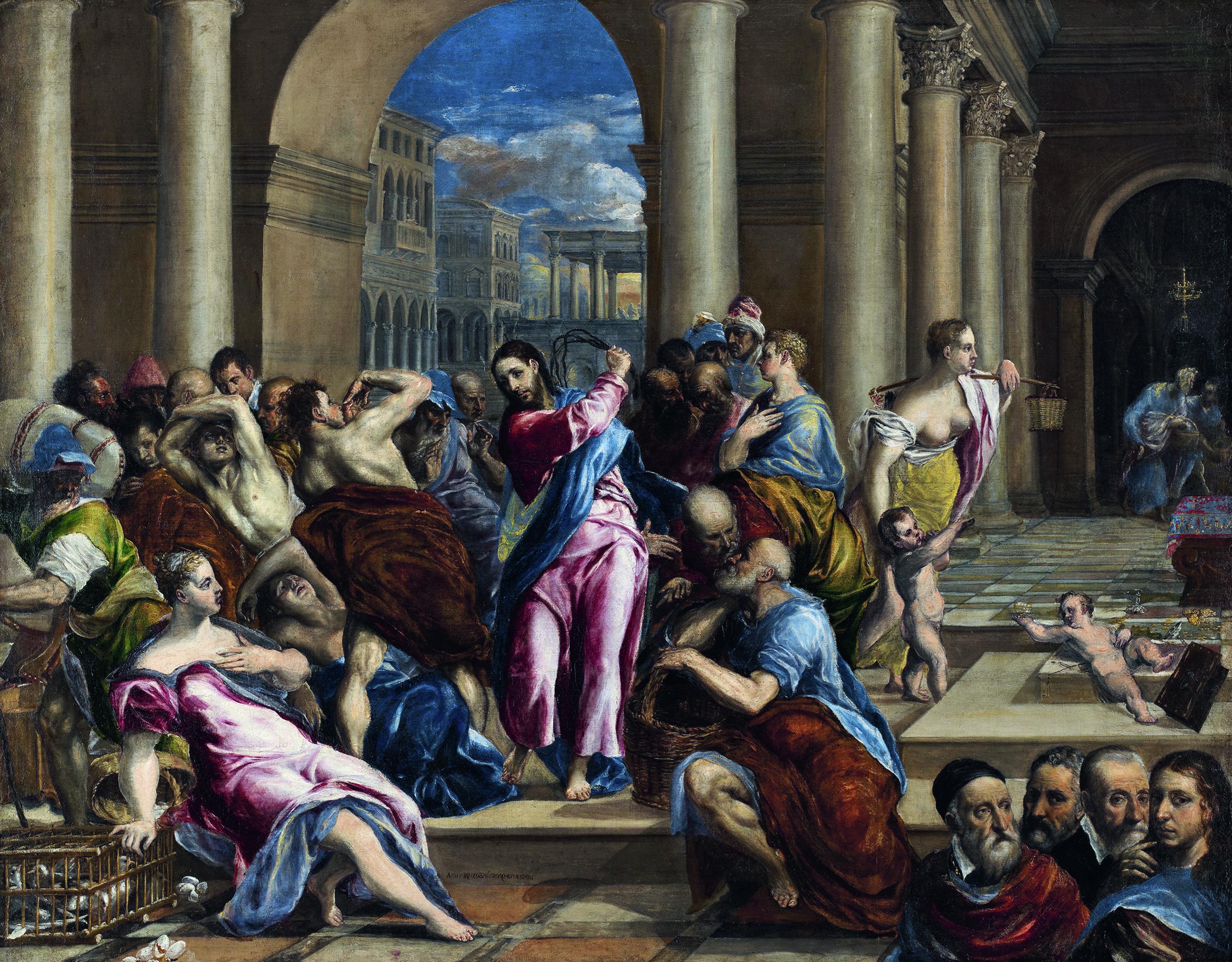 le-christ-chassant-les-marchands-du-temple