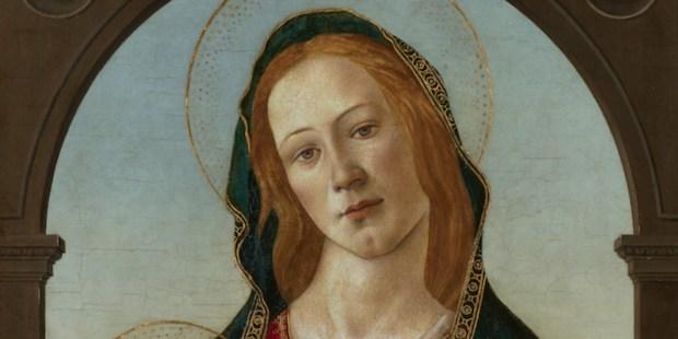 Vierge à l'Enfant de Botticelli