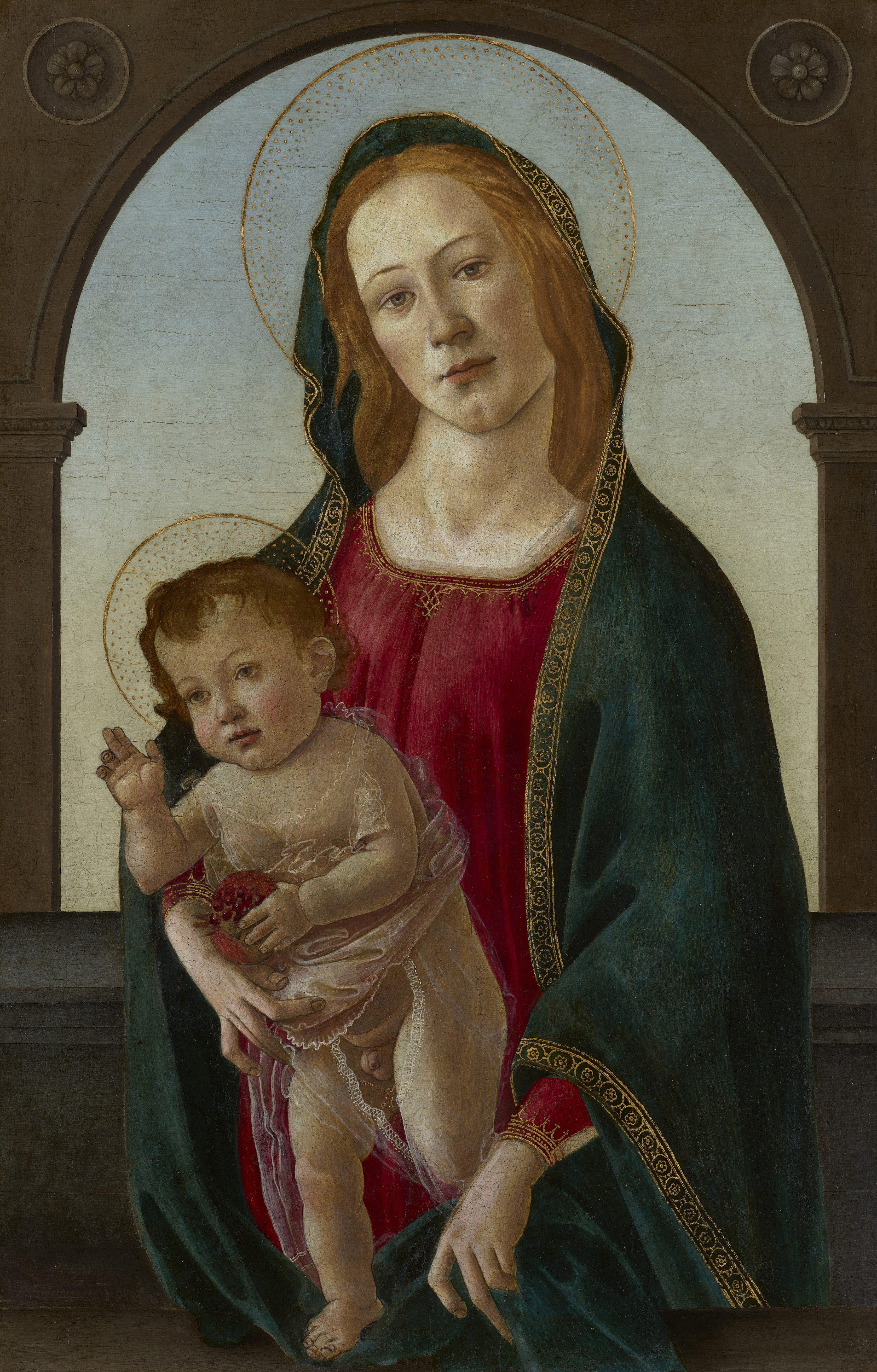 Vierge à l'Enfant de Boticelli