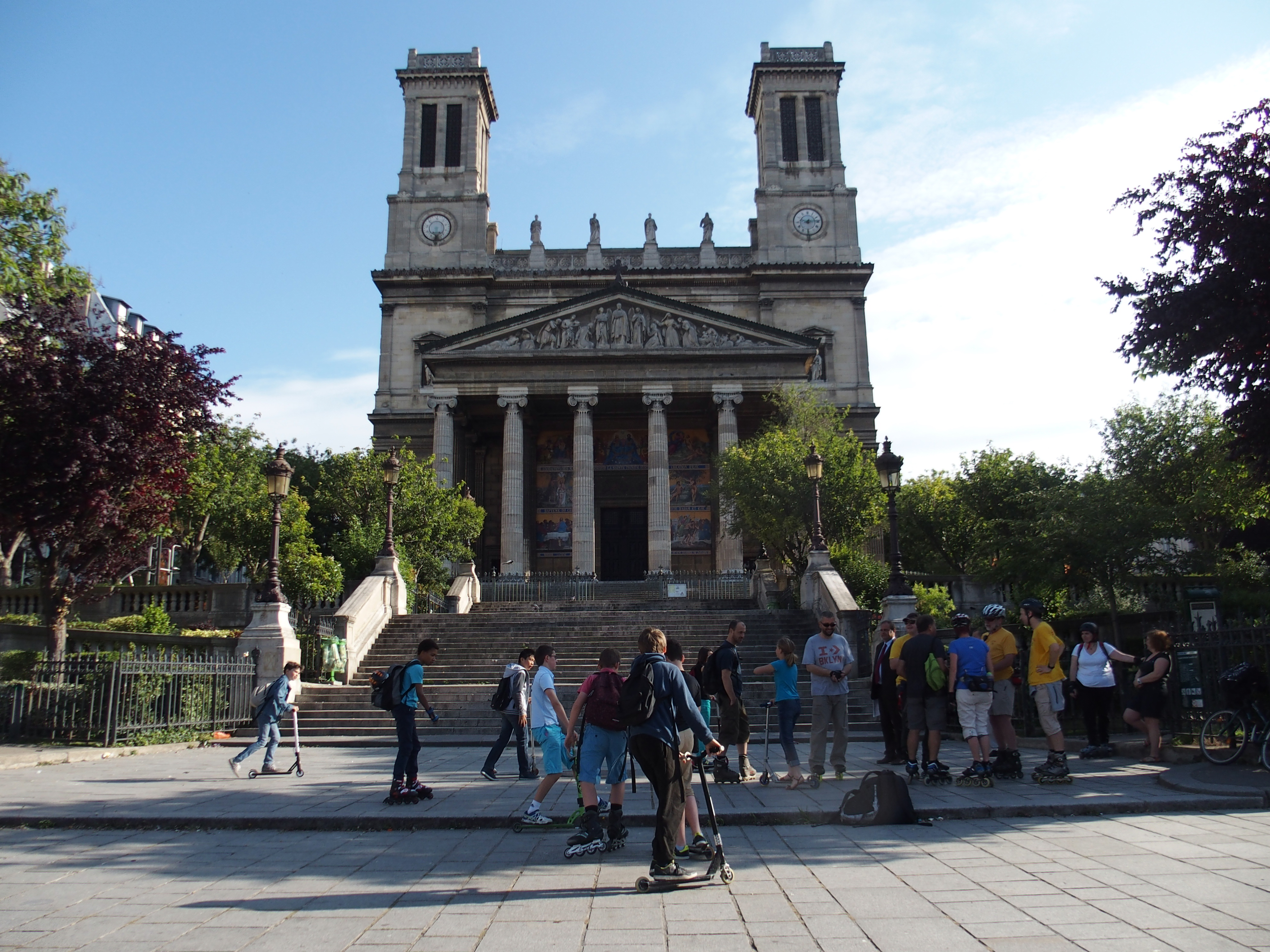 église saint vincent de paul à paris