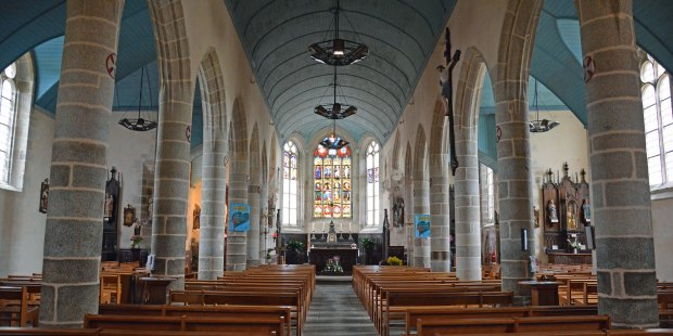 L'église de Melgven