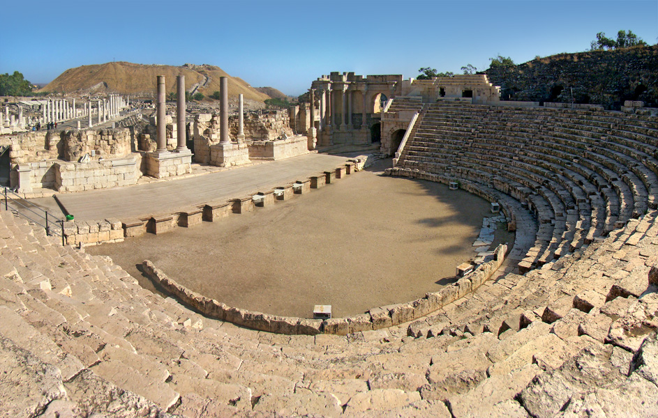 Théâtre romain de Scythopolis