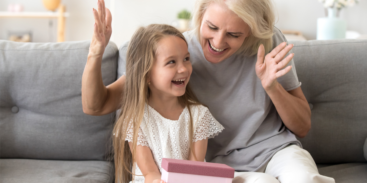 Grandchild - Birthday - Present - Grandmother
