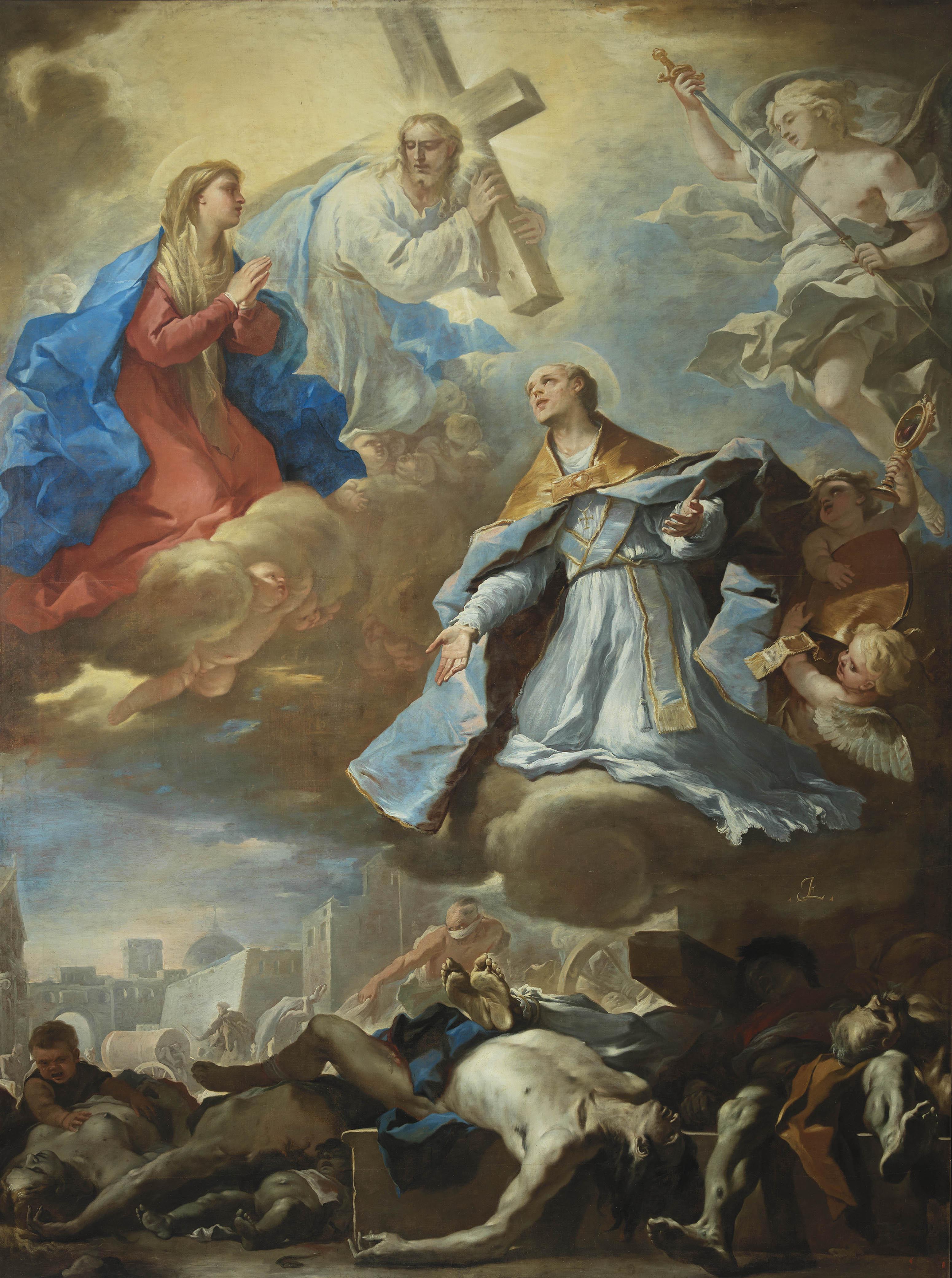 San Gennaro intercedant pour la peste