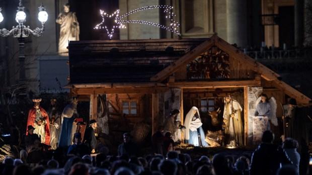 VATICAN CITY CHRISTMAS