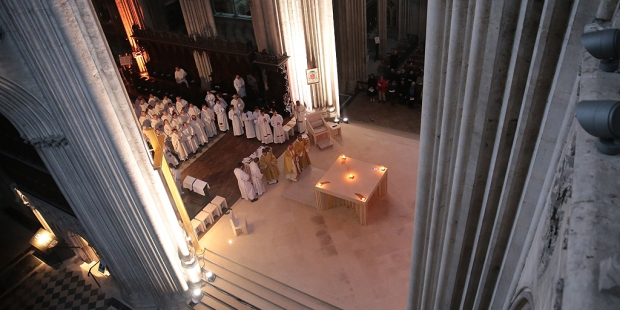 Autel cathédrale de Bayeux