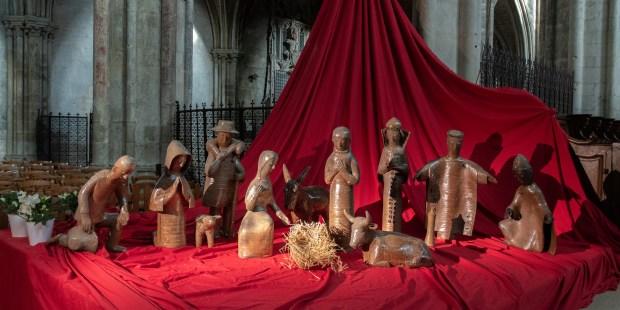 Crèche de la cathédrale de Bourges 2019
