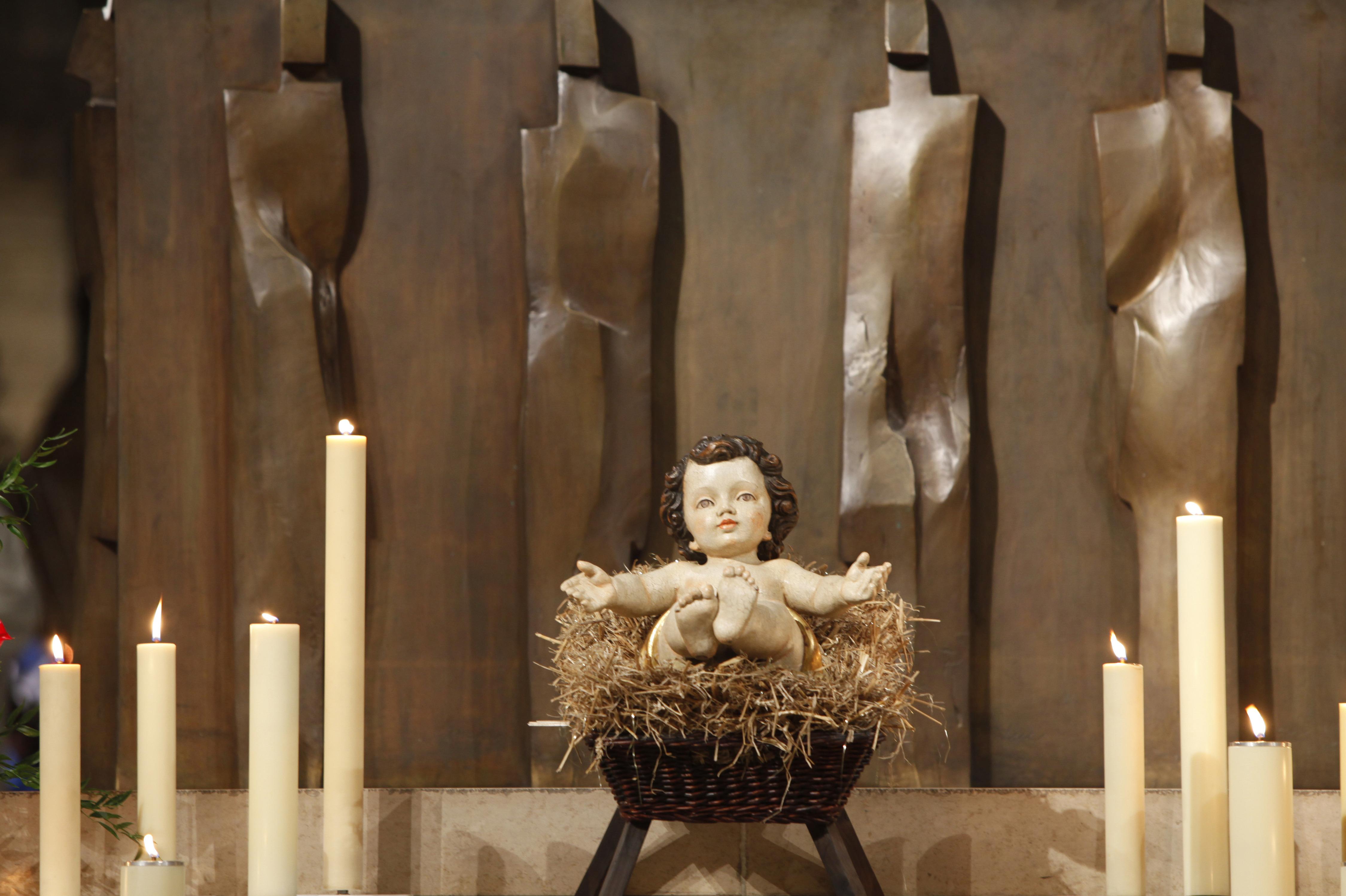 Messe de Noël à Notre Dame de Paris