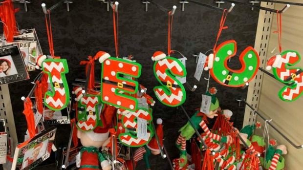 Décorations Noël : Jésus