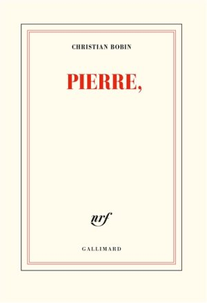 Pierre, un livre de Christian Bobin