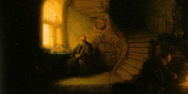 Philosophe par Rembrandt