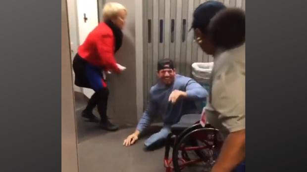 Vidéo humour handicap