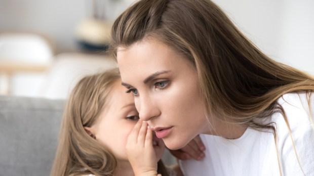 Mother, Child, Girl, Secret, Problem, Confidence