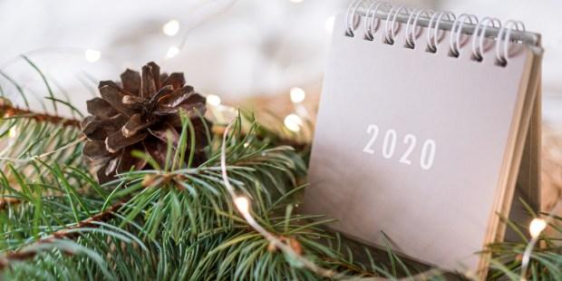 New year, 2020,