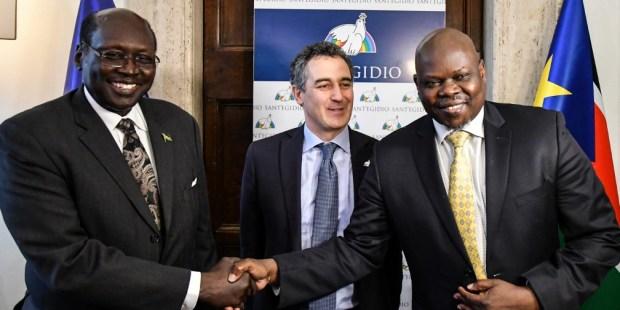 La communauté Sant'Egidio a réuni à Rome un représentant du gouvernement sud-soudanais ainsi que les chefs de six partis d'opposition.